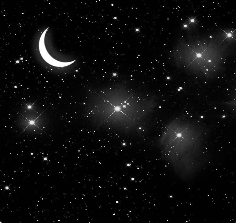 Gece Gökyüzü Ve Uzay Resimleri Deco Gergi