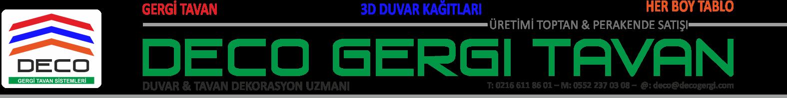DECO GERGİ Logo